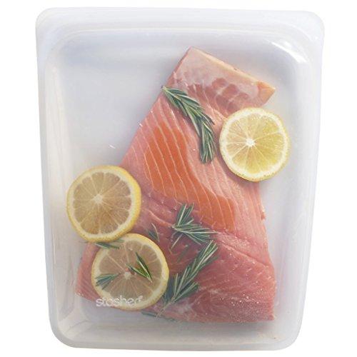Stasher-Reusable-Silicone-Food-Bag-Sandwich-Bag-Sous-vide-Bag-Storage-Bag-Clear