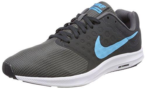 Nike Men's Grey Downshifter 7 Running Shoes (7-UK)