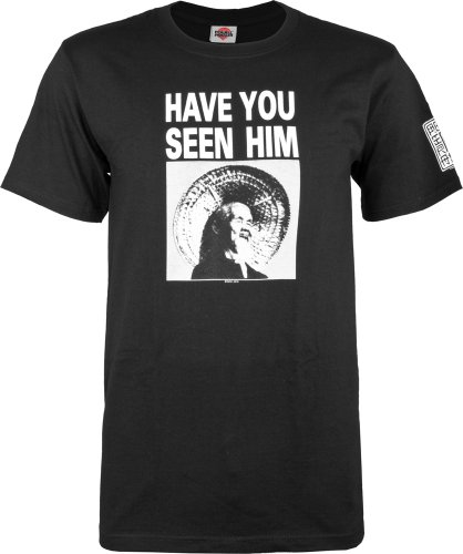 Powell-Peralta Animal Chin Have You Seen Him? T-Shirt, Black, Large