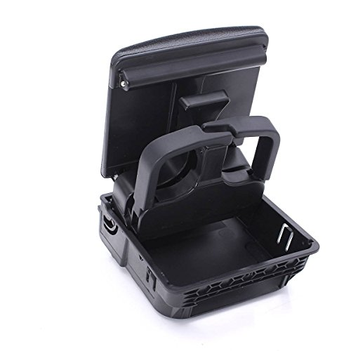 Sugeryy Rear Central Console Premium Front Armrest Cup Holder For VW Jetta MK5 Golf GTI MKV MK5 MK6