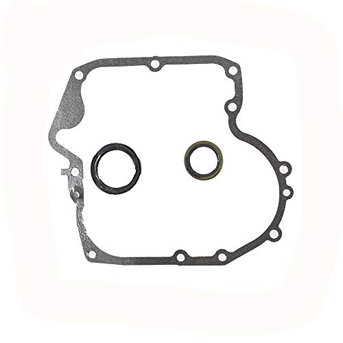 YIKOU Carburetor Rebuid Kit for Briggs & Stratton 697110 & 795387 Crankcase Gasket & Oil Seal Combo