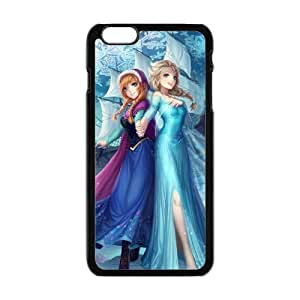 Happy Frozen Princess Elsa and Anna Cell Phone Case for iPhone 4/4s
