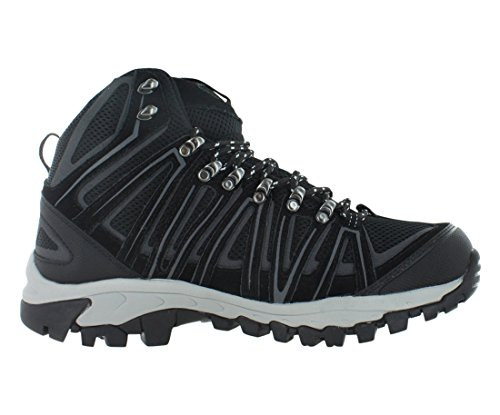 Grey Pacific Black Men's Size Crest Hiking 5 Backpacking Waterproof Mountain Boots Cut Mid 10 8Ewrqz8Wx