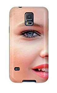 Rugged Skin Case Cover For Galaxy S5- Eco-friendly Packaging(barbara Palvinand Screensavers )