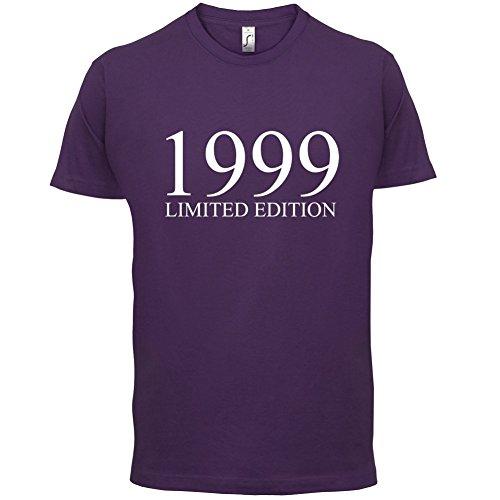 1999 Limierte Auflage / Limited Edition - 18. Geburtstag - Herren T-Shirt - Lila - S