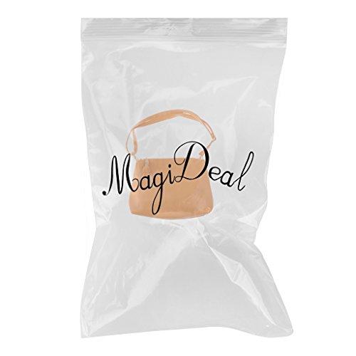 MagiDeal Borsa Messaggero Sacchetto Di Spalla Catena Di Modo per Donna - Giallo