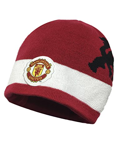 (Manchester United Beanie Red )
