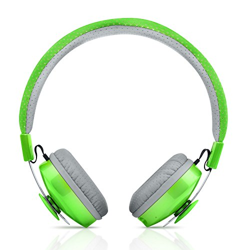 Olio Wireless Bluetooth headphones for kids – Green