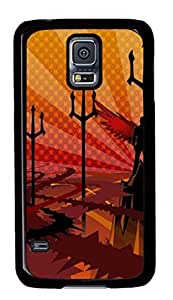 Hell Custom Back Phone Case for Samsung Galaxy S5 PC Material Black -1210154