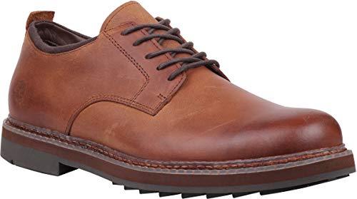 - Timberland Men's Squall Canyon Plain Toe Waterproof Oxford Medium Brown Full Grain 10.5 D US