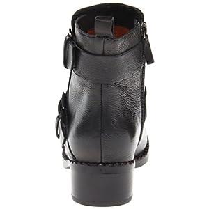 Gentle Souls Women's Best Of Motorcycle Boot, black, 6 M US