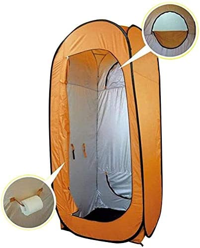 AFANG Portable Pop Up Tent Abri Pluie, Instant Lightweight Shower Privacy Tent, Waterproof Vertical Horizontal Rain Shelter Room Toilet Rain Shelter Outdoor Camping Travel