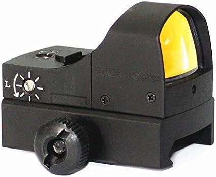 Sphinx 1x22 Mini Micro Reflex Red//Green Scope Illuminated 4 MOA Dot Sight