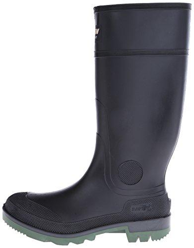 Baffin Men's Enduro PT Rain Boot,Black/Clear/Green,13 M US