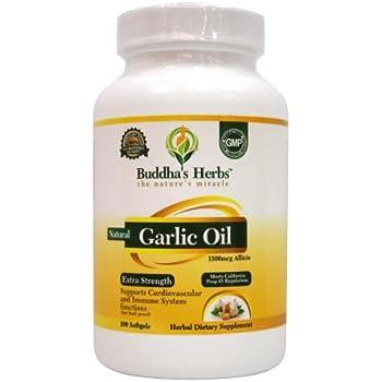 Allicin In Nature S Bounty Garlic Extract