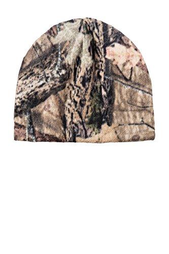 Port Authority Camouflage Fleece Beanie - C901 (Mossy Oak Break Up Country, OSFA)