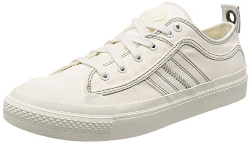 Diesel Men's ASTICO LOWLACE Sneaker, Star White, 10.5 M US