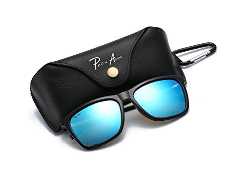 Pro Acme Retro Driving Polarized Sunglasses for Men Women Al-Mg Metal Frame