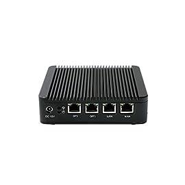 Firewall Micro Appliance With 4x Gigabit Intel LAN Ports, 8GB RAM / 120GB mSATA 54 Intel® Quad Core Celeron J1900, 64 bit, 2.0GHz, 2MB L2 Cache 4x Intel® Gigabit Ethernet NIC ports 8GB DDR3L RAM, 128GB mSATA SSD