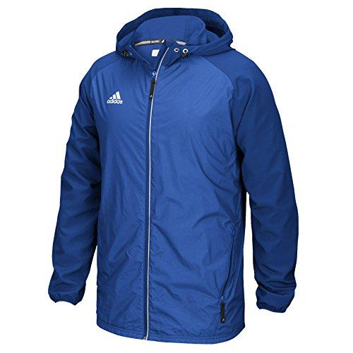 (Adidas Modern Varsity Mens Woven Jacket S Royal)