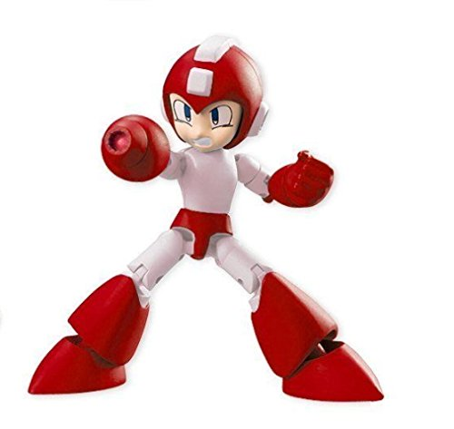 Bandai Mega Man 66 Action Dash Mega Man Secret Red Rush Ver. Character Mini Action Figure approx. 66mm / 2.6