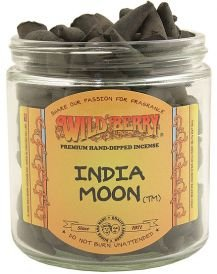 WILDBERRY 50 Incense Cones – India Moon