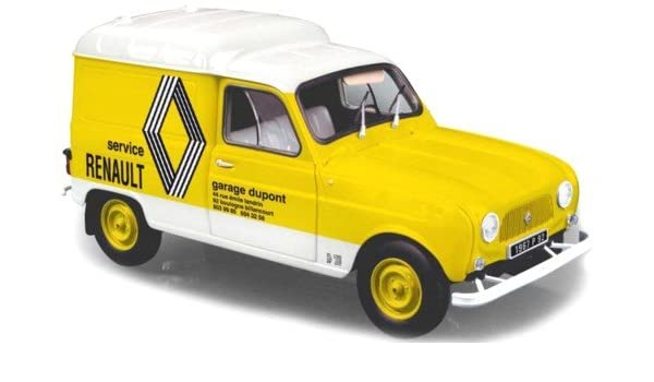 Amazoncom 1972 Renault R4f4 Renault Service Car 118 By Norev