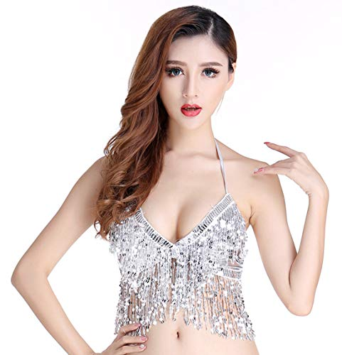 Halloween Costume Top for Women Belly Dance