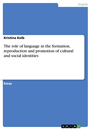language and cultural identity
