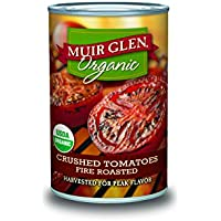 12 Pk. Muir Glen Organic Fire Roasted Crushed Tomatoes Cans