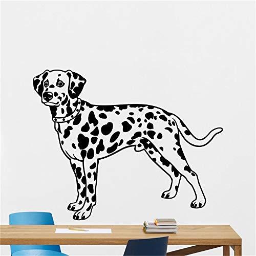 Liedes Wall Stickers Art Decor Decals Dalmatian Spotty Dog Home Decor Animal Design Pet Shop Teen Boy Room