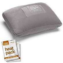 Thermatek Heated Lumbar Travel Pillow, Gray, One Size