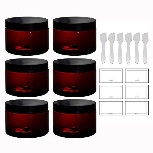 12oz plastic jars - 7