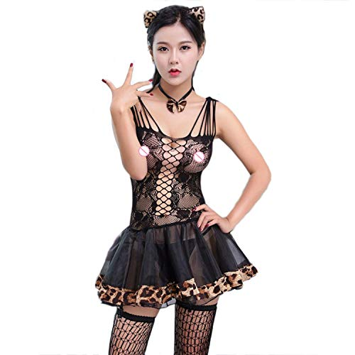Skirt Cat Sexy Babydoll Women Sexy Lingerie Hot Lace Erotic Lingerie Costumes Cosplay