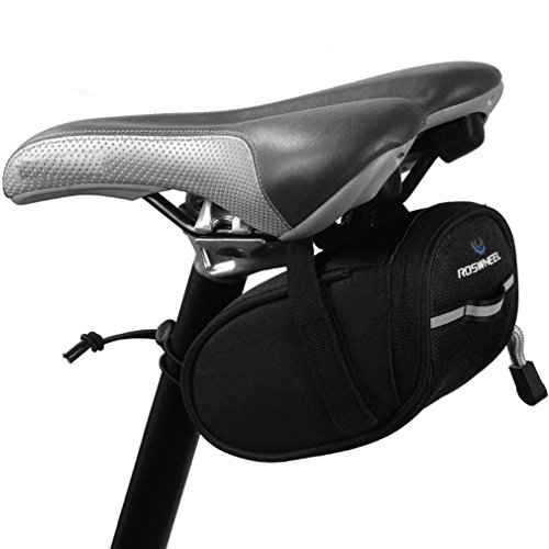 ArcEnCiel Bike Cycling Saddle Outdoor Pouch Back Seat Bag Basket Bicycle Racing Saddle Bag with (Specialized Clothes Bike)