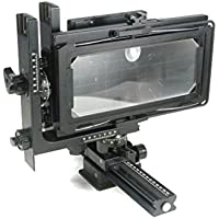 OZSHOP JIEYING 4X10 inch format frame for Horsman L series single rail view camera