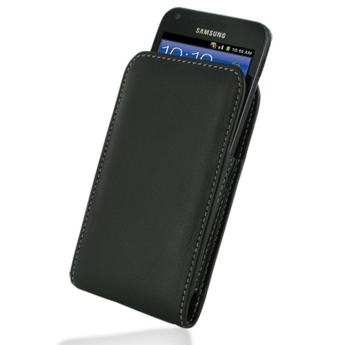 PDAIR VX1 Black Leather Case for Samsung Galaxy S II Epic...
