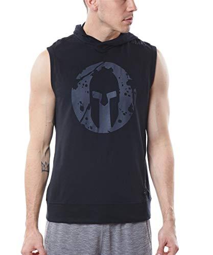 Spartan Race by Craft Deft Sleeveless Jersey Hood - Men's Black