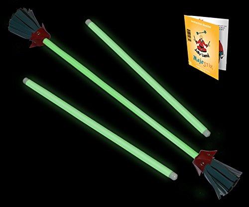 Majestix Glow in the Dark Juggling Devil Sticks by Jolly Lama! (Image #2)