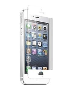 Znitro Nitro Protector de pantalla para iPhone 5, cristal color blanco