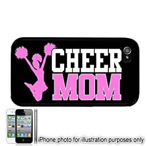 iphone covers Cheerleader Cheer MOM Style #2 Apple Iphone 5c Case Cover Skin Black