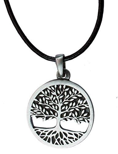 exoticdream Tree of Life Celtic Pewter Pendant Religious Flow Creation + 18