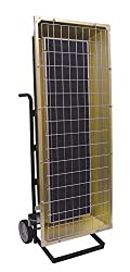 TPI FSP31201 FSP Series Heavy Duty Flat Panel Emitter Electric Portable Infrared Heater 3.15KW, 15.4 Amps