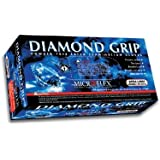 Microflex Diamond Grip Latex Gloves,  X-Large (100 Gloves)