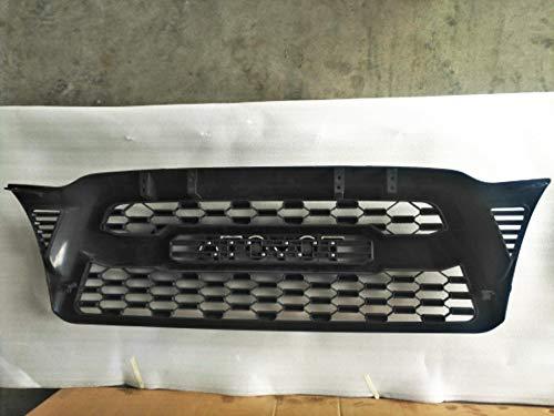Matte Black Front Bumper TRD PRO Grille For Tacoma 2005 2006 2007 2008 2009 2010 2011