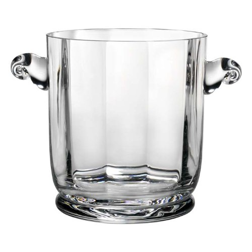 (Reed & Barton 7510/1226 Heritage Austin Crystal Ice Bucket, Clear)