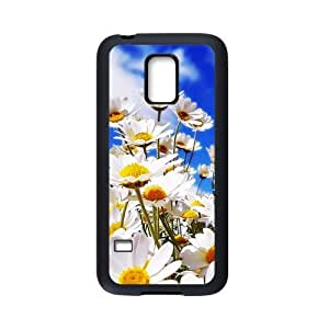 HOT sale, Beautiful Daisy Flower picture for black Plastic and TPU Samsung Galaxy S5 mini case BY RANDLE FRICK by heywan