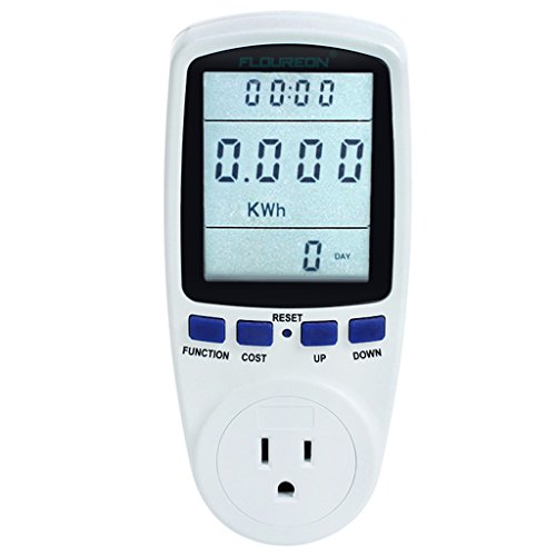 (TS-836A Plug Power Meter Energy Voltage Amps Electricity Usage Monitor,Reduce Your Energy Costs)