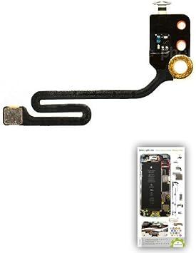 Antena NFC para iPhone 6 Plus con patrón papel de ayuda al ...
