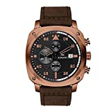 AIMANT Men's Watch Dakar Copper with Brown Leather Band GDA-230L5-55